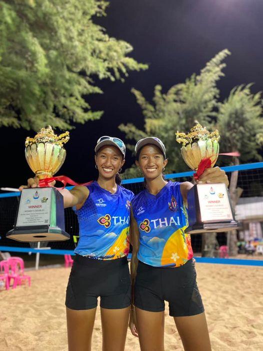 ซี-ซ่า คว้าแชมป์ Pattaya Doubles Beach Tennis 2020